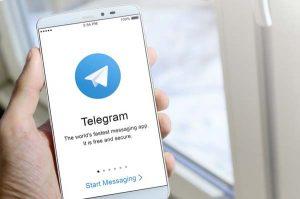 Telegram fotns