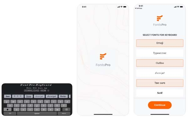 Fonts Pro Keyboard for any app
